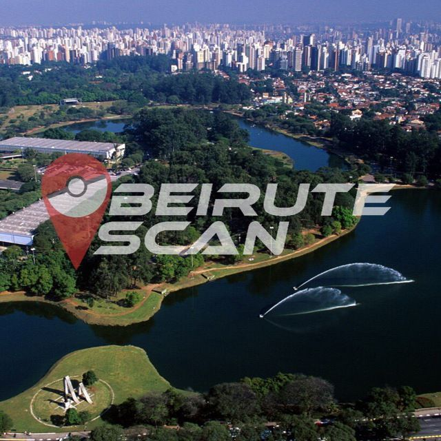Mapa Pokemon - Ibirapuera - SP